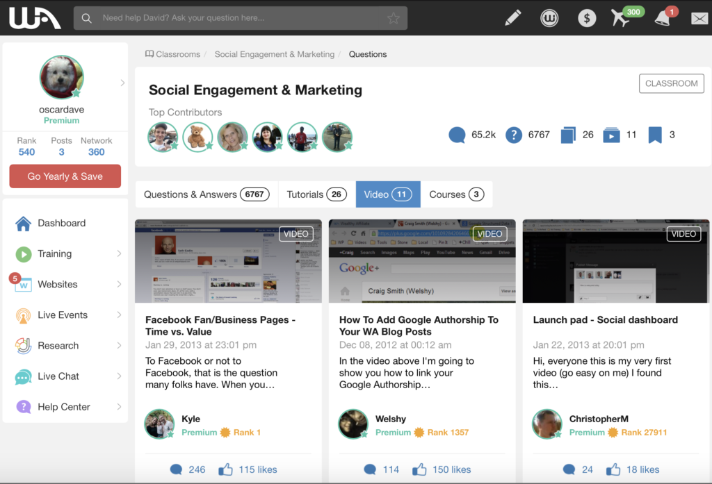 social engagement and marketing