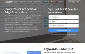The jaxxy Keyword Research Tool Review