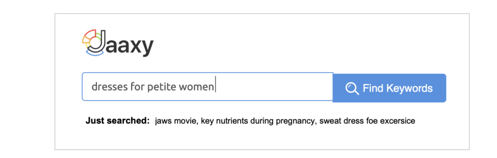 using a good keyword tool