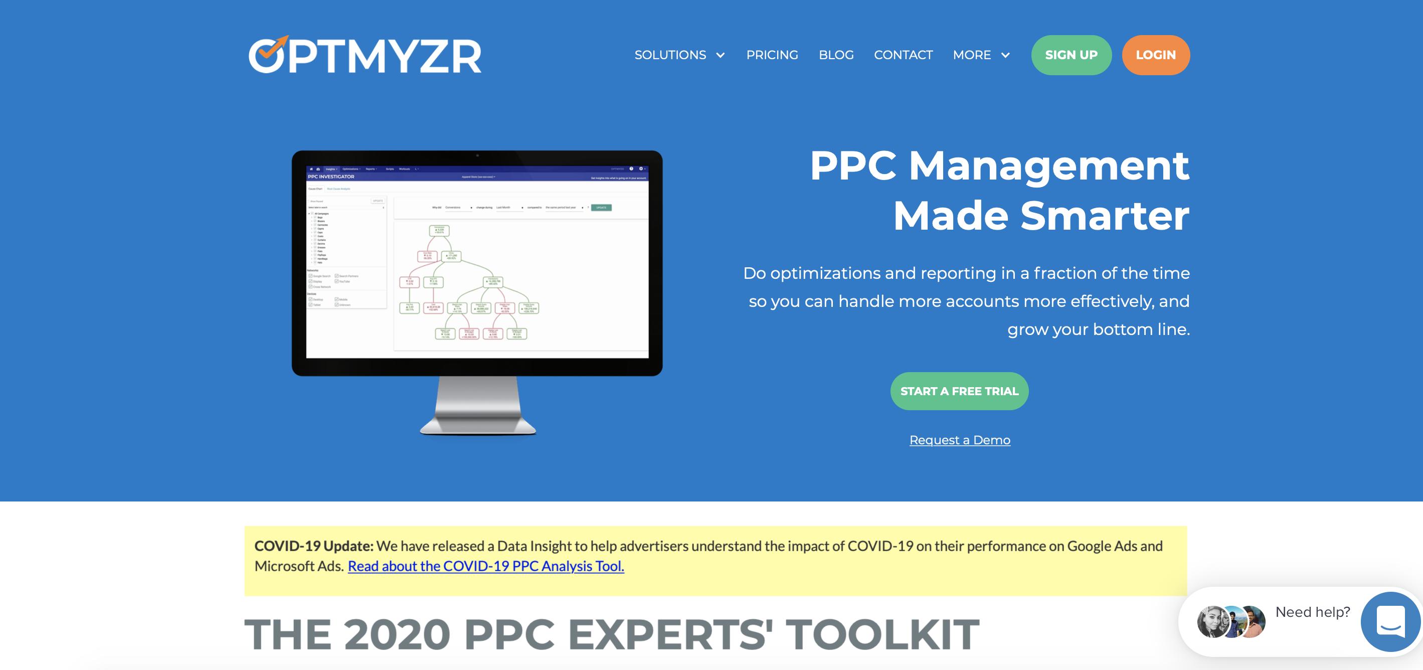 optmyzr PPC tool