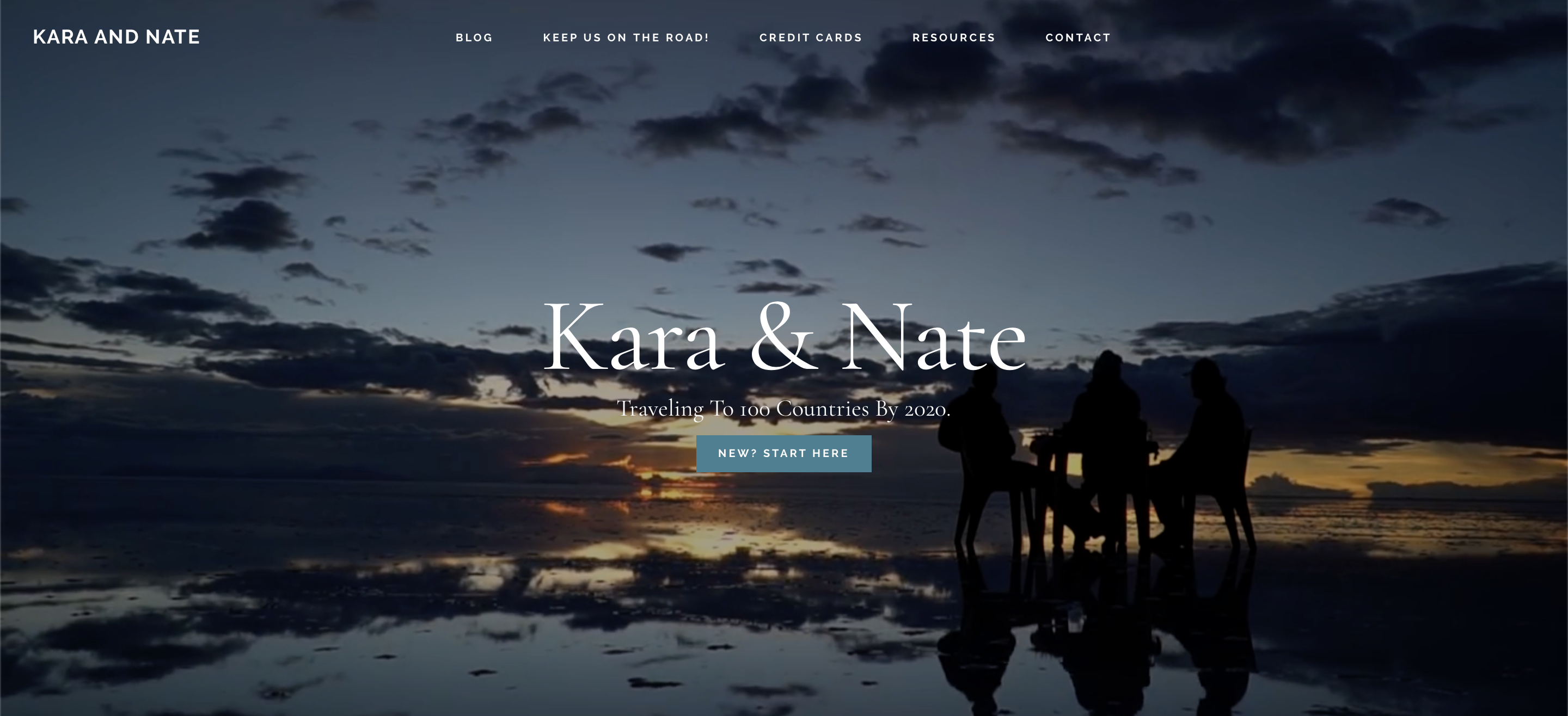 kara and nate website