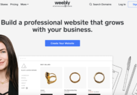 weebly website builder