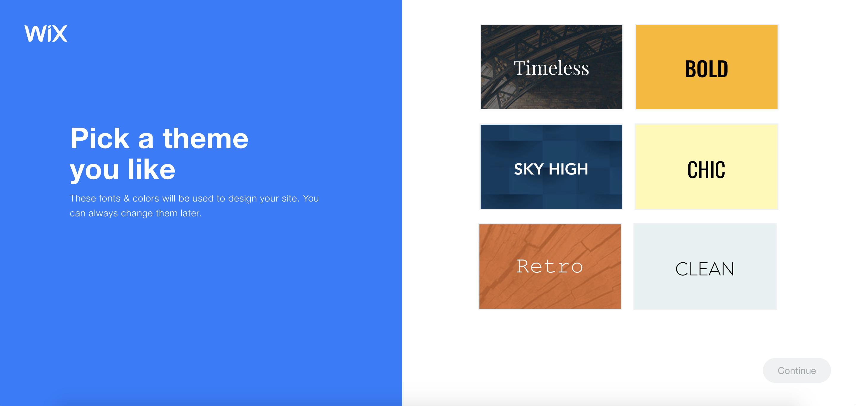 wix adi tool themes