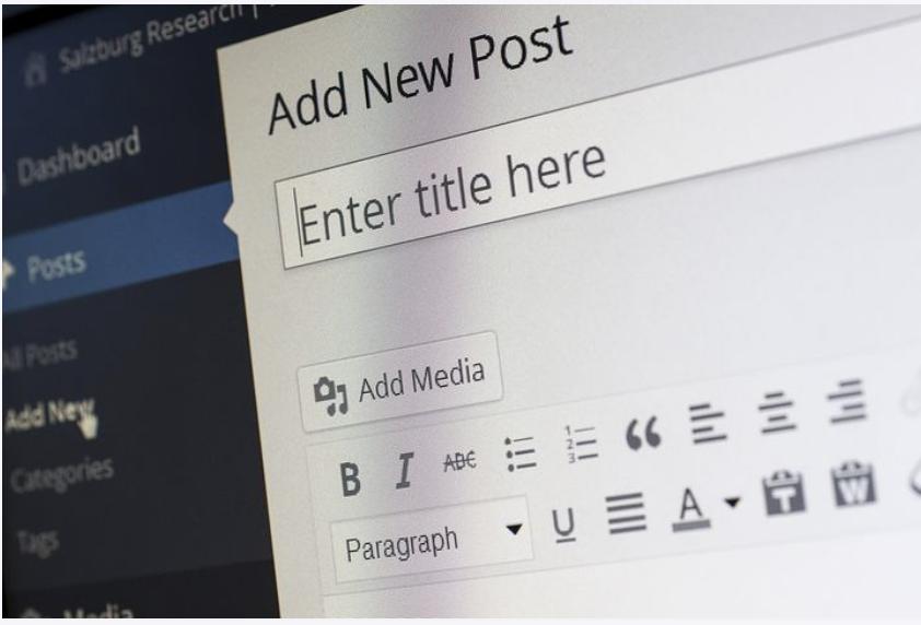 create wordpress posts