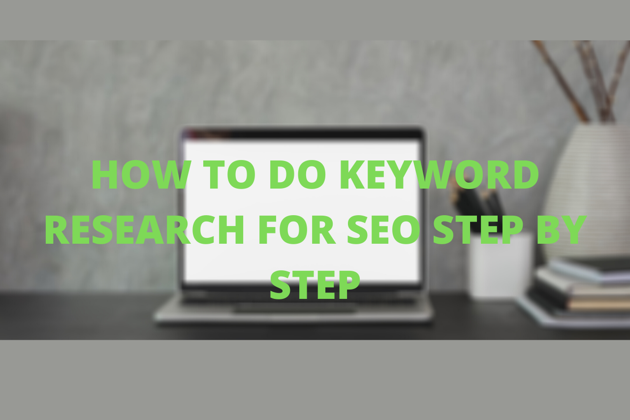 doing SEO keyword research