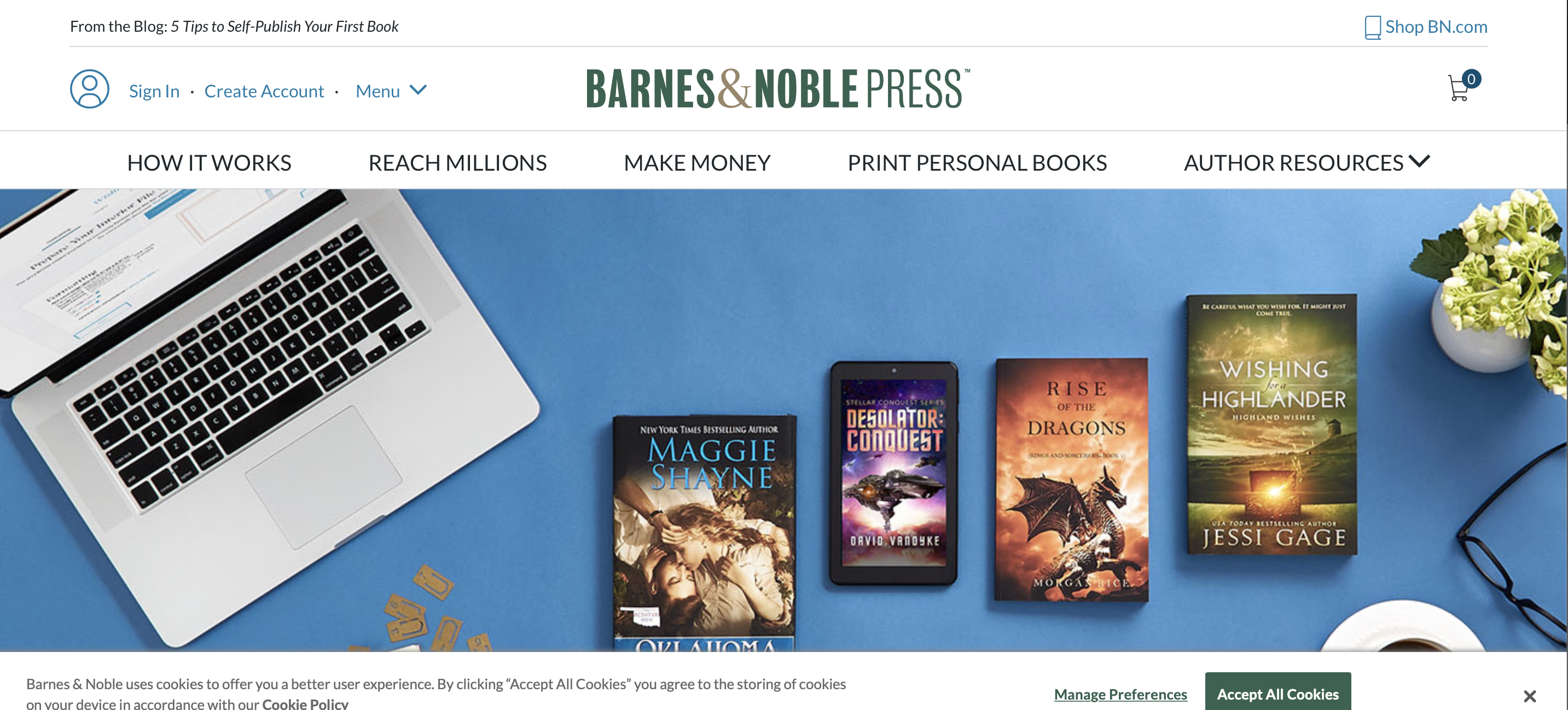 barnes and noble press